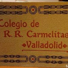 Postales: VALLADOLID, EXTRAORDINARIO LIBRO DE POSTALES CARMELITAS DEL CAMPO GRANDE. RARO.. Lote 184885667