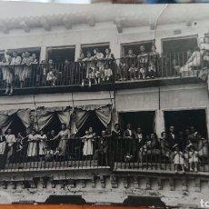 Postales: FOTO TORDESILLAS, VALLADOLID, AÑOS 20. ORIGINAL, GRAN FOTO. Lote 185417516