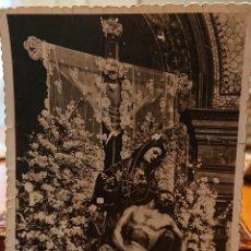 Postales: VALLADOLID, POSTAL VIRGEN DE RUEDA. AÑOS 50, ORIGINAL, MUY RARA. Lote 186063043