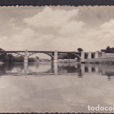 Postales: POSTAL VALLADOLID PUENTES SOBRE EL RIO PISUERGA . Lote 186324570