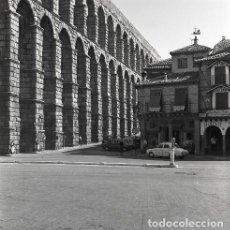 Postales: NEGATIVO ESPAÑA SEGOVIA 1970 KODAK 55MM NEGATIVE GRAN FORMATO SPAIN PHOTO FOTO. Lote 186397363
