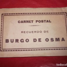 Postales: BURGO DE OSMA SORIA BLOCK RECUERDO CON 12 POSTALES POSTAL FOTOGRAFICA. Lote 187157501