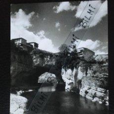 Postales: BURGOS, POSTAL DE PUENTEDEY, RIO NELA Y OJO NATURAL. NUMERO 4. Lote 189276587