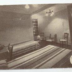 Postales: POSTAL DE SALAMANCA DE LOS AÑOS 50- EDIFICIO ESPAÑA-RESIDENCIA RESTAURANTE ETC-SIN CIRCULAR. Lote 189621222