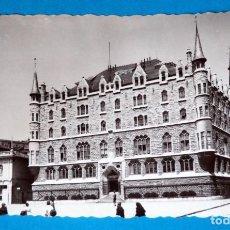 Postales: POSTAL DE LEON: EDIFICIO DE LA CAJA DE AHORROS. Lote 189895580