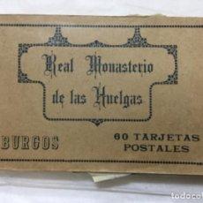 Postales: REAL MONASTERIO DE LAS HUELGAS - BURGOS - 60 POSTALES ( HAY 59) - HAUSER Y MENET. Lote 190114887