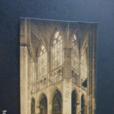 Postales: LEON CATEDRAL CRUCERO. Lote 190352438