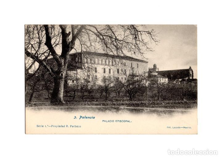 PALENCIA.- PALACIO EPISCOPAL. (Postales - España - Castilla y León Antigua (hasta 1939))
