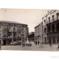 Postales: BARRUELO DE SANTULLAN.(PALENCIA).- PLAZA DE ESPAÑA. A LA DERECHA EL AYUNTAMIENTO.. Lote 190614608