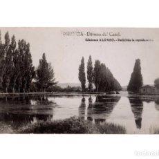 Postales: PALENCIA.- DÁRSENA DEL CANAL.. Lote 190771206
