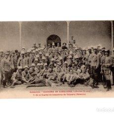Postales: PALENCIA.- COLECCIÓN ACADEMIA DE CABALLERÍA - EN EL CUARTEL DE CAZADORES DE TALAVERA.. Lote 190773007