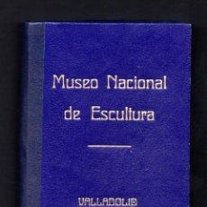Postales: VALLADOLID.- MUSEO NACIONAL DE ESCULTURA. CONJUNTO DE 30 POSTALES. EDICIÓN DE LUJO.. Lote 190866015