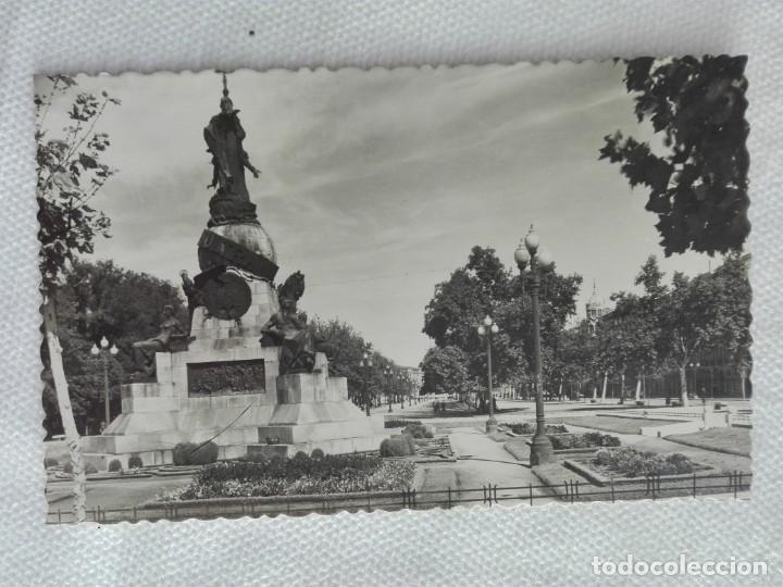 827 POSTAL ESCRITA - GARRABELLA 48 - VALLADOLID / PASEO CAMPO GRANDE (Postales - España - Castilla y León Moderna (desde 1940))