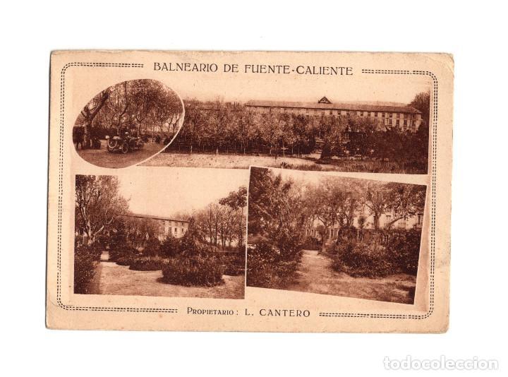 MIRANDA DE EBRO.(BURGOS).- BALNEARIO DE FUENTE-CALIENTE. (Postales - España - Castilla y León Antigua (hasta 1939))