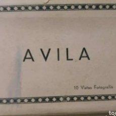 Postales: AVILA, AÑOS 50 POSTALES FOTOFRAFIAS DESPLEGABLES. Lote 191465768