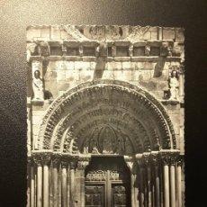 Postales: POSTAL SORIA - 40 PORTADA DE SANTO DOMINGO. Lote 191491586