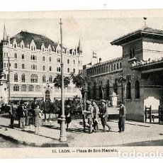 Postais: LEON PLAZA DE SAN MARCELO. FOTO WINOCIO. HAE. SIN CIRCULAR. Lote 191519110