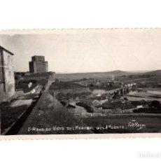 Postales: CIUDAD RODRIGO.(SALAMANCA).- VISTA ARRABAL DEL PUENTE.. Lote 191587037