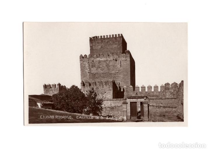 CIUDAD RODRIGO.(SALAMANCA).- CASTILLO DE D. ENRIQUE II. (Postales - España - Castilla y León Antigua (hasta 1939))