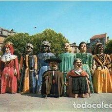 Postales: BURGOS - 8 COMPARSA DE GIGANTES Y GIGANTILLOS. Lote 192153893