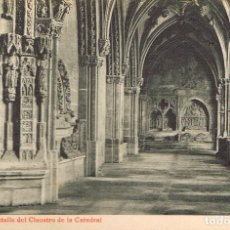 Postales: LEÓN, CATEDRAL, DETALLE DEL CLAUSTRO, EDITOR: THOMAS Nº 68. Lote 192155345
