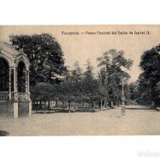 Postales: PALENCIA.- PASEO CENTRAL DEL SALÓN DE ISABEL II.. Lote 192193062