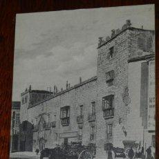 Postales: POSTAL DE BURGOS, CASA DEL CORDON, COLECCION EXCELSIOR, NO CIRCULADA, ESCRITA.. Lote 192338356