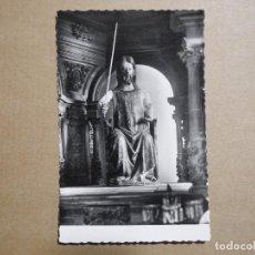 Postais: BURGOS. MONASTERIO DE LAS HUELGAS. IMAGEN DEL APÓSTOL SANTIAGO. ED. GARCIA GARRABELLA. Nº 121 NUEVA. Lote 192663798