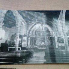 Postales: POSTAL DE CANDELEDA AVILA DEL ALTAR MAYOR DE LA IGLESIA PARROQUIAL VISTABELLA SIN USAR. Lote 192868417