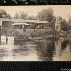 Postales: BEJAR. SALAMANCA. EL PARQUE. Lote 192932518