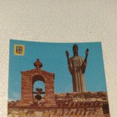 Postales: PALENCIA CRISTO DEL OTERO Y ERMITA. Lote 193333953
