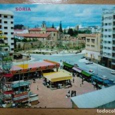 Cartes Postales: SORIA, SORIA EN FIESTAS AL FONDO RINCÓN DE BECQUER. Lote 193350955
