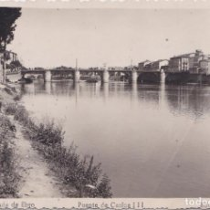 Postales: MIRANDA DE EBRO (BURGOS) - PUENTE DE CARLOS III. Lote 193445458