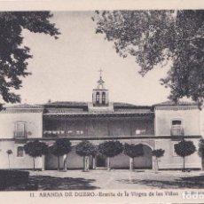 Postales: ARANDA DE DUERO (BURGOS) - ERMITA DE LA VIRGEN DE LAS VIÑAS. Lote 193445890