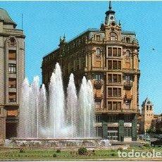Cartes Postales: LEÓN - 21 PLAZA DE SANTO DOMINGO - FUENTE MONUMENTAL. Lote 193582380
