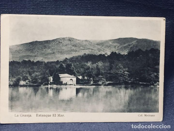 POSTAL LA GRANJA ESTANQUE EL MAR COL MEDRANO HAUSER Y MENET NO INSCRITA NO CIRCULADA (Postales - España - Castilla y León Antigua (hasta 1939))