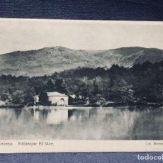 Postales: POSTAL LA GRANJA ESTANQUE EL MAR COL MEDRANO HAUSER Y MENET NO INSCRITA NO CIRCULADA. Lote 193855563