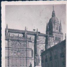 Postales: POSTAL SALAMANCA - LA UNIVERSIDAD - PATIO DE ESCUELAS. Lote 193884313