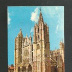 Cartes Postales: POSTAL SIN CIRCULAR - LEON - CATEDRAL - EDITA F.I.T.E.R. Lote 194012062