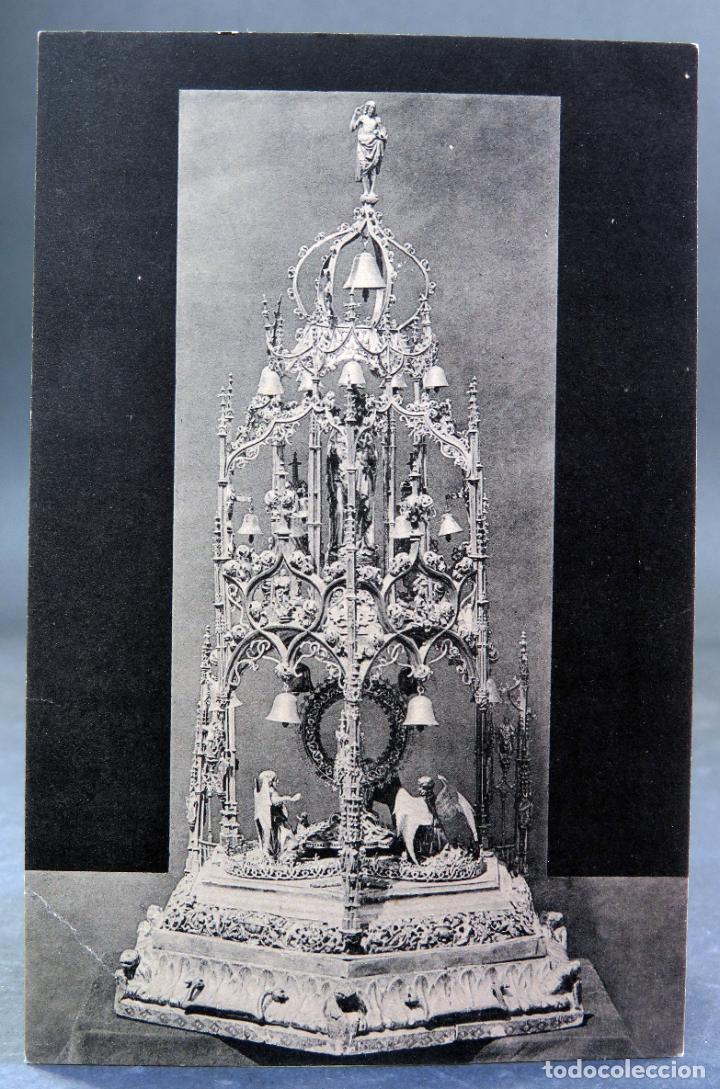 POSTAL SAHAGÚN CUSTODIA PROCESIONAL CLICHÉ LACOSTE HAUSER Y MENET SIN CIRCULAR (Postales - España - Castilla y León Antigua (hasta 1939))