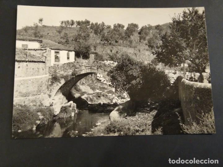 HERVÁS 13 PUENTE ROMANO. CIRCULADA CON AMBULANTE. (Postales - España - Castilla y León Antigua (hasta 1939))