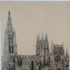Postales: BURGOS - CATEDRAL VISTA GENERAL. Lote 194110252