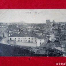 Postales: W.- 14.- POSTAL DE -- SORIA -- VISTA GENERAL , EDICION DE SUCESOR DE JODRA .- SIN CIRCULAR . Lote 194139328