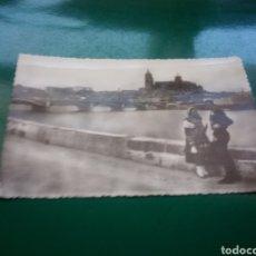 Postales: ANTIGUA POSTAL DE SALAMANCA. PAREJA DE CHARROS. AÑOS 50. HELIOTOPIA ARTÍSTICA ESPAÑOLA. Lote 194199980