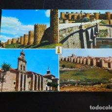 Postales: AVILA VARIAS VISTAS. Lote 194224967