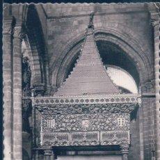 Postales: POSTAL AVILA - BASILICA DE SAN VICENTE - SEPULCRO DE LOS SANTOS VICENTE, SABINA Y CRISTETA. Lote 194276120