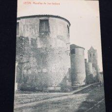 Postales: POSTAL LEON MURALLAS SAN ISIDORO THOMAS NO INSCRITA NO CIRCULADA. Lote 194297585