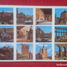 Postales: POSTAL POST CARD CASTILLA Y LEÓN SEGOVIA VARIOS ASPECTOS Nº 827 MINI EDICIONES DAVID VER FOTO........ Lote 194299623