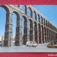 Postales: POSTAL POST CARD CASTILLA Y LEÓN SEGOVIA Nº 848 ACUEDUCTO ROMANO VISTA PARCIAL DEL MONUMENTO SIGLO I. Lote 194300177
