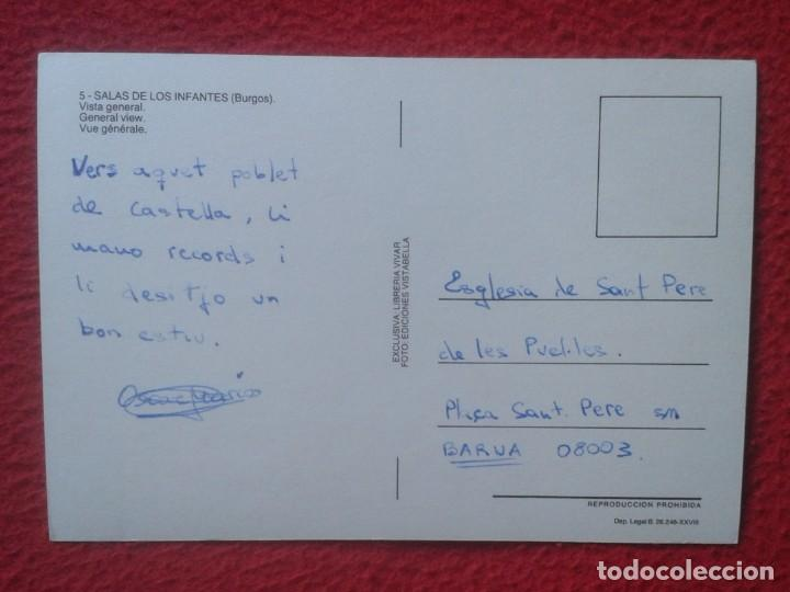 Postales: POSTAL POST CARD CASTILLA Y LEÓN BURGOS SALA DE LOS INFANTES VISTA GENERAL VIEW VUE LIBRERÍA VIVAR.. - Foto 2 - 194301947